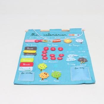 Dětský látkový kalendář Ludi