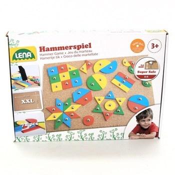 Dětská stavebnice Lena Hammerspiel 72