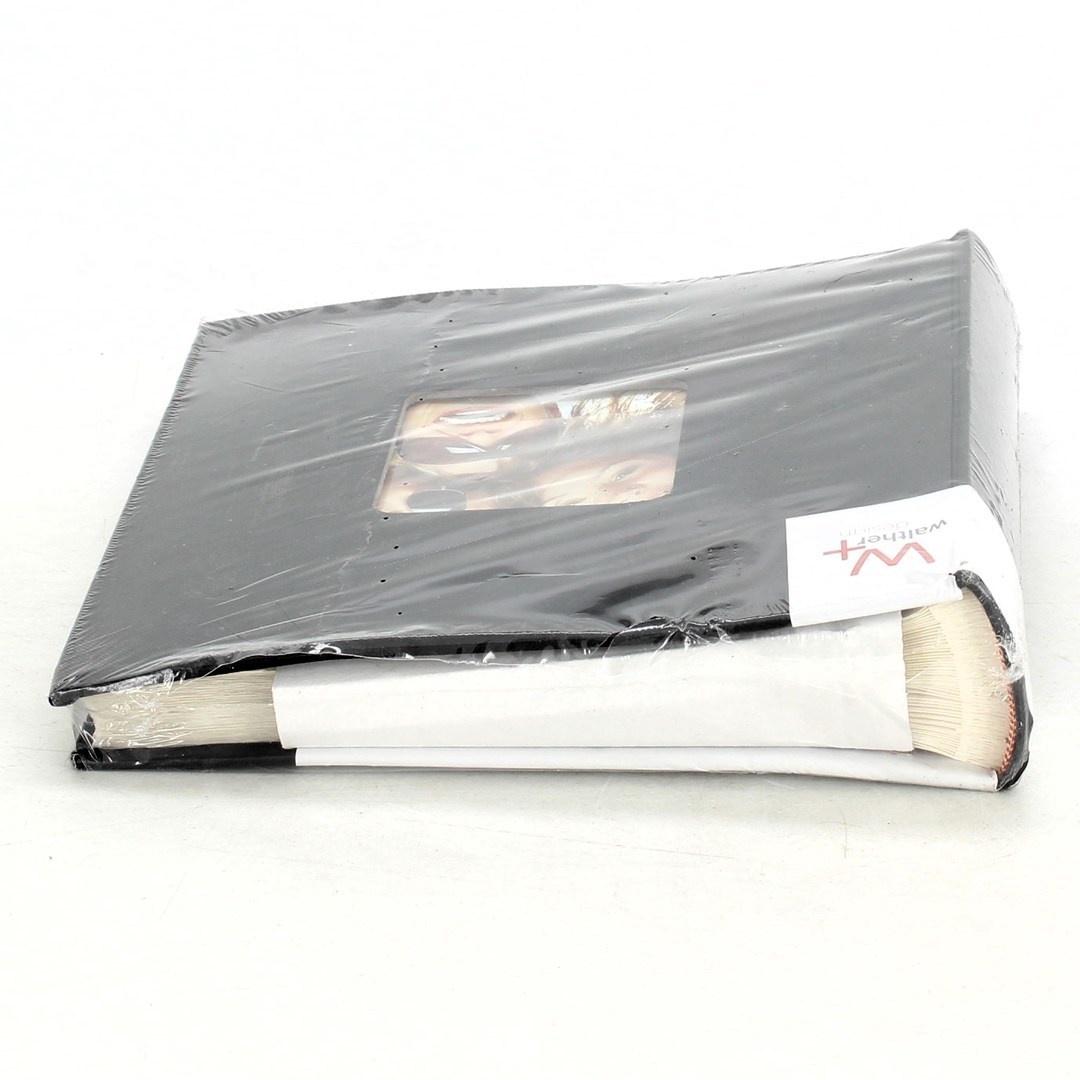 Fotoalbum kniha Walther Design černé