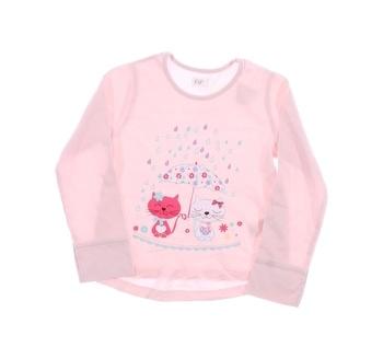 Dívčí tričko F&F růžové s potiskem