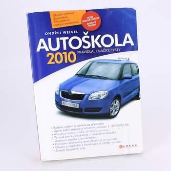 Kniha Autoškola 2010 pravidla, značky, testy