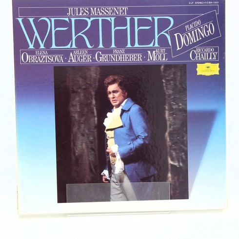 Gramofonová deska Werther