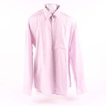 Pánská košile Esprit odstín růžové 6328c82d26