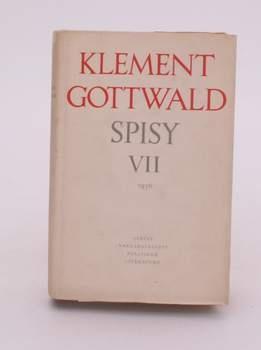 Kniha Klement Gottwald: Spisy Vll
