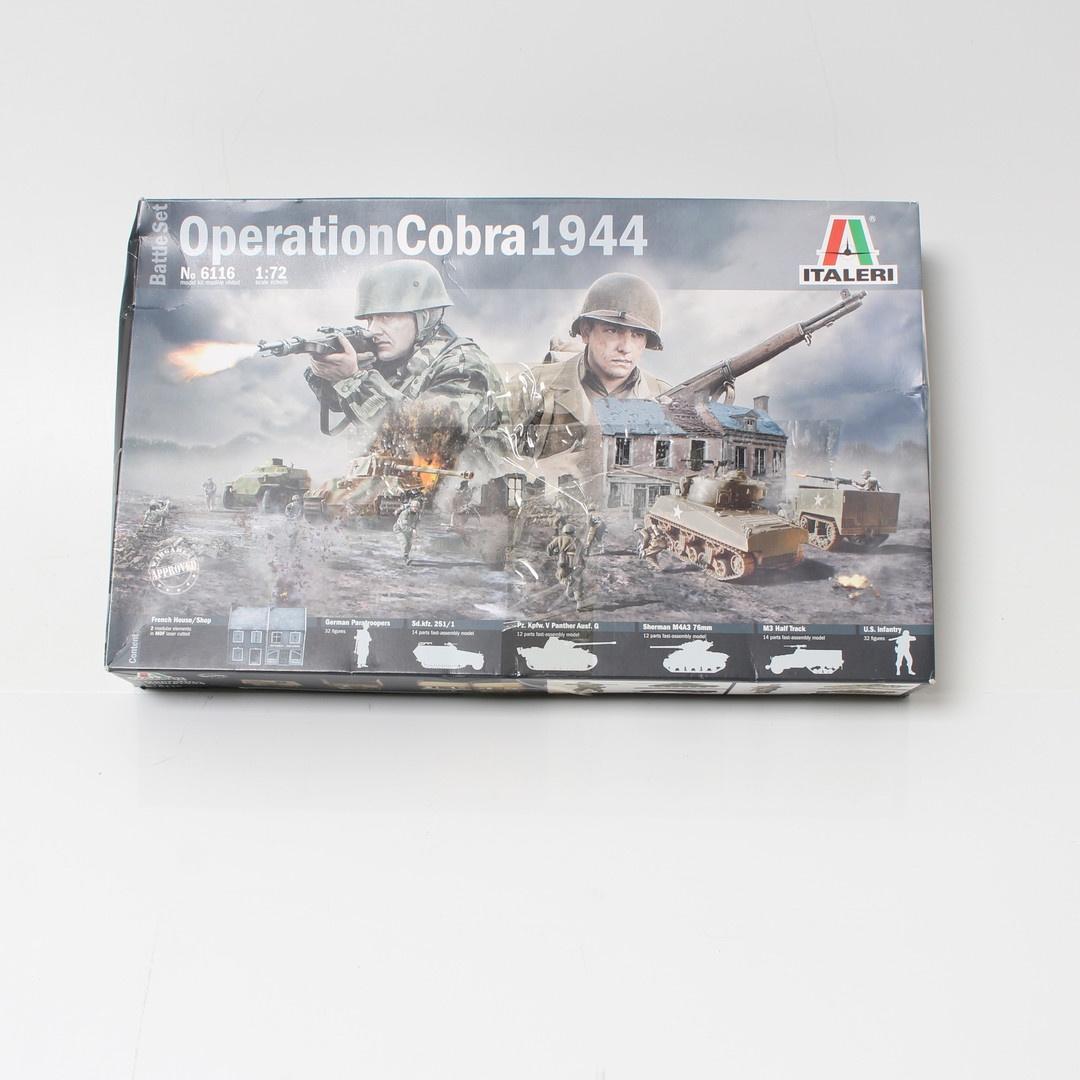 Diorama operace Cobra 1944 Italeri 6116