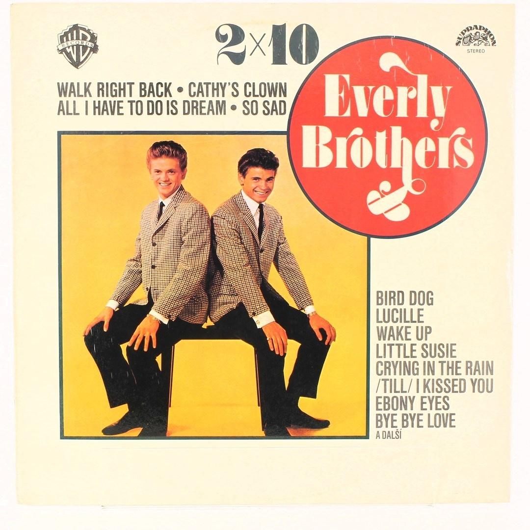 Gramofonová deska 2x10 Everly brothers