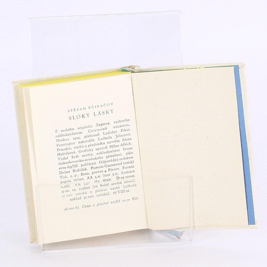 Kniha Stěpan Ščipačov: Sloky lásky