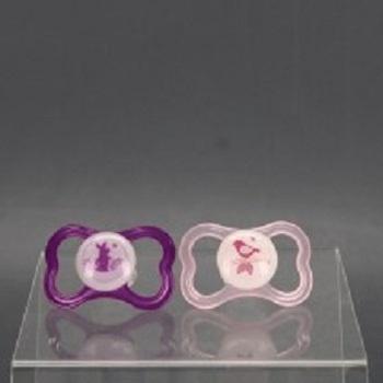 Silikonové dudlíky Mam 6023683 růžové