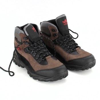 Pánská treková obuv Lico hnědo černá