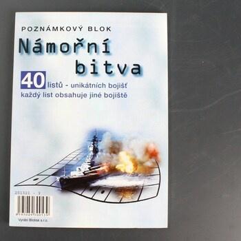 Poznámkový blok Námořní bitva