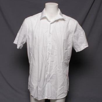 Pánská košile Seidensticker 01.021001 bílá L