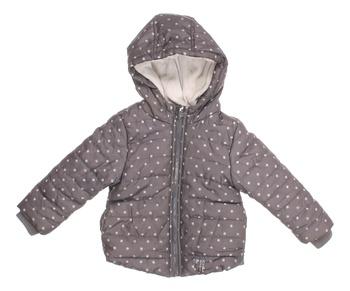 Dívčí zimní bunda Lupilu šedá