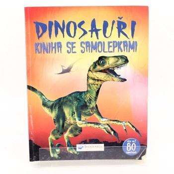 Kolektiv: Dinosauři kniha se samolepkami