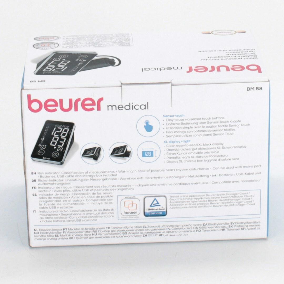 Tlakoměr Beurer BM58 černý