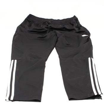 Pánské kalhoty Adidas černé s pruhy