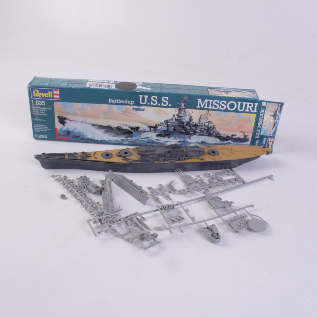 Model lodi Revell 05092 U.S.S. Missouri