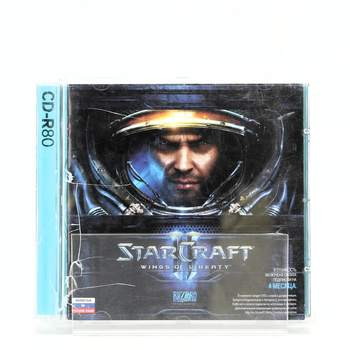 Hra na PC StarCraft wings of liberty