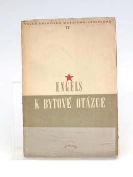 Kniha Bedřich Engels: K bytové otázce