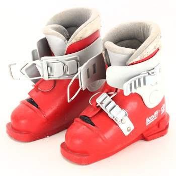 Lyžařské boty Koflach červené
