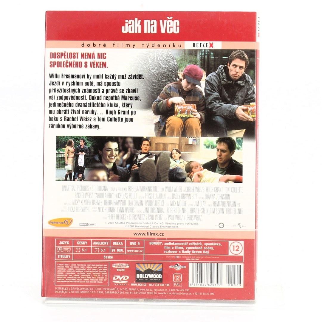 DVD Jak na věc