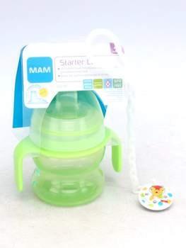 Plastová kojenecká lahev Mam 150 ml