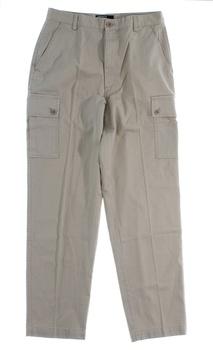 Pánské plátěné kalhoty Ralph Lauren béžové