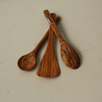 Dřevěné míchačky Mastro Leonardo Olive Wood