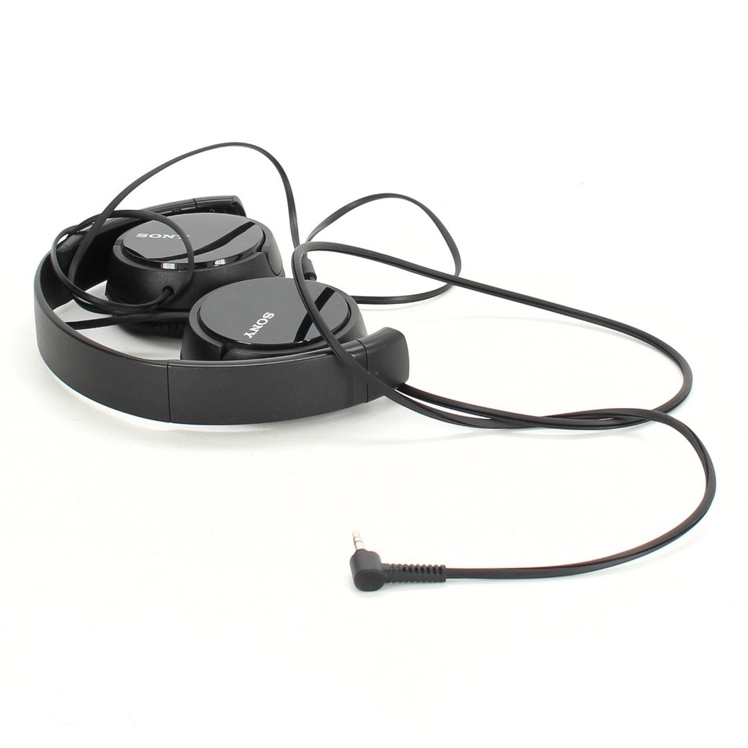 Náhlavní sluchátka Sony černá