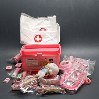 Lékařský kufřík pro děti Vanplay růžový