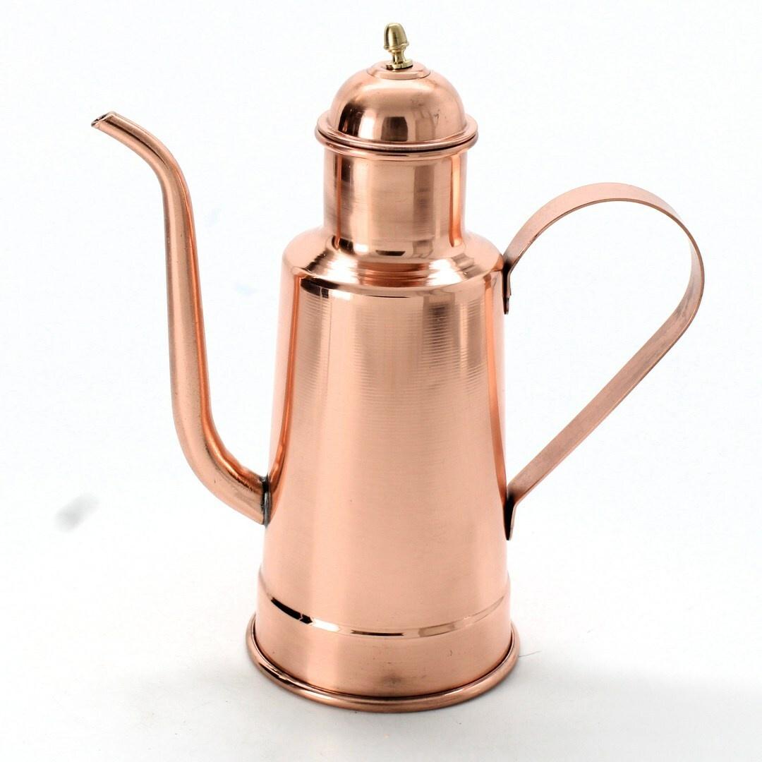 Čajová konvice na čaj měděná