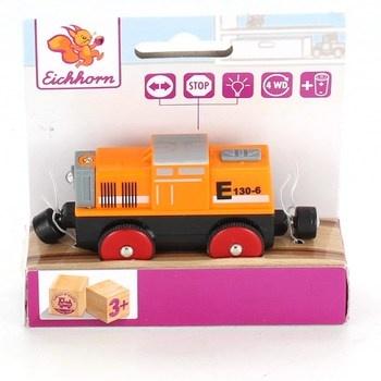 Mašinka Eichhorn oranžové barvy