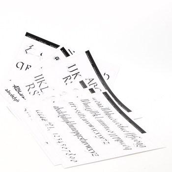 Kaligrafie-cvičební blok s předlohou Brause