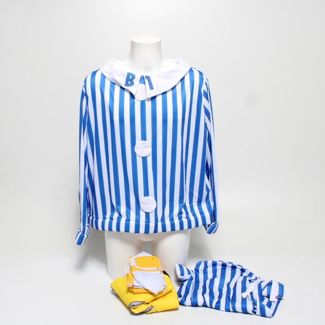 Kostým Smiffys 33131M banán v pyžamu