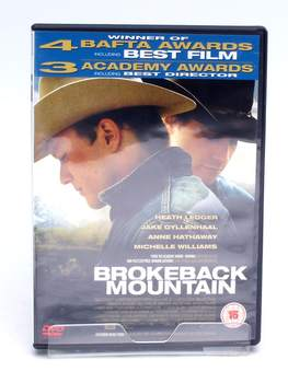 DVD Focus Brokeback Mountain