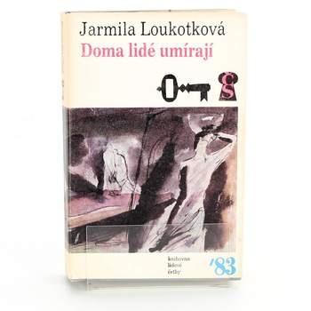 Kniha Jarmila Loukotková: Doma lidé umírají