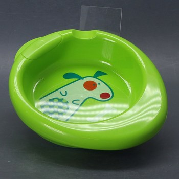 Ohřívací talířek Chicco zelený