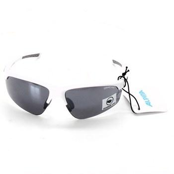 Cyklistické bílé brýle Alpina Tri-Effect 2.0