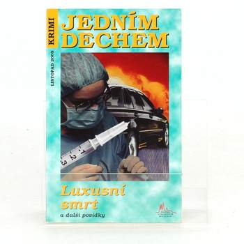 Kniha Krimi JEDNÍM DECHEM Jiří Houdek