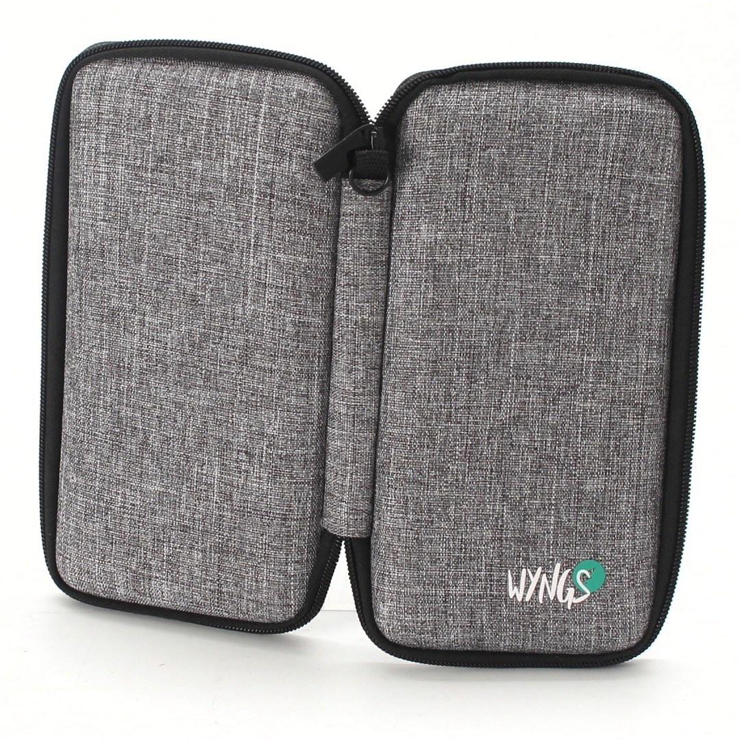 Pouzdro od značky WYNGS šedé barvy