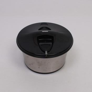 Salátová sušička Leifheit černostříbrná
