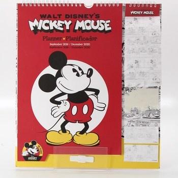Nástěnný kalendář Disney Mickey Mouse 2020
