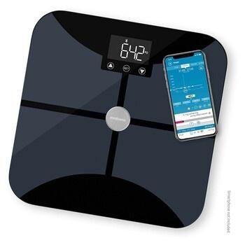 Digitální váha na wifi Medisana BS 652 černá
