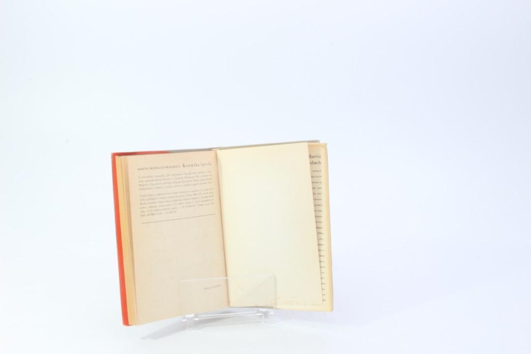 Kniha Martin Beheim-Schvarzbach: Kronika špicla