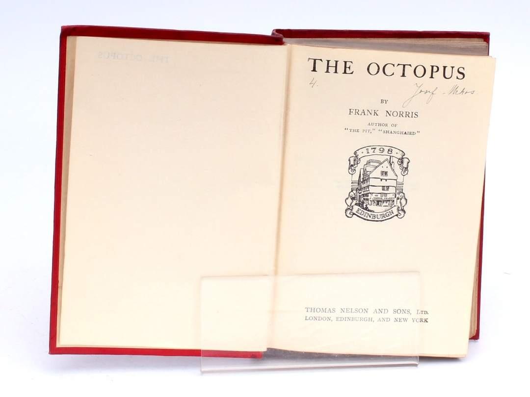 Kniha The Octopus Frank Norris