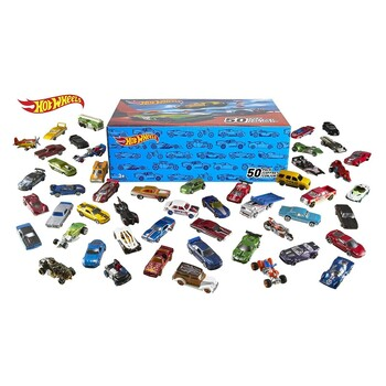 Autíčka Hot Wheels V6697 50 ks