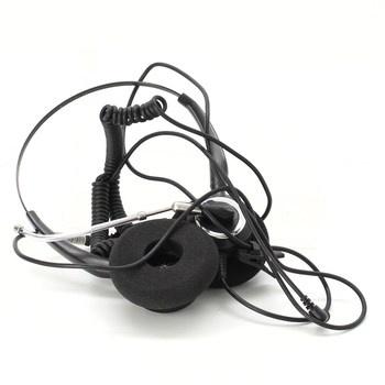 Náhlavní sluchátka s mikrofonem 3.5 mm jack
