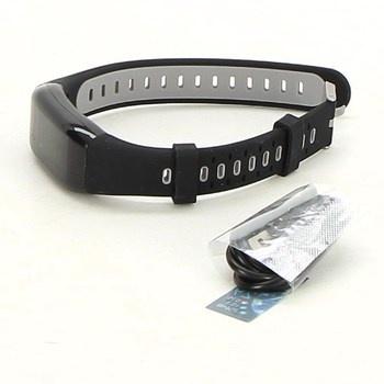 Fitness náramek Tipmant Orologio, černý/šedý