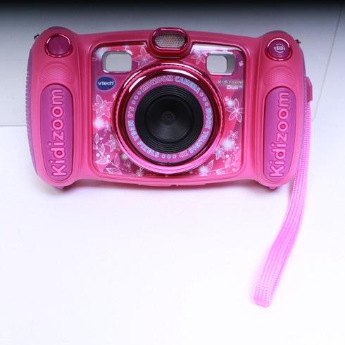 Fotoaparát Vtech Kidizoom Duo 5.0 růžový
