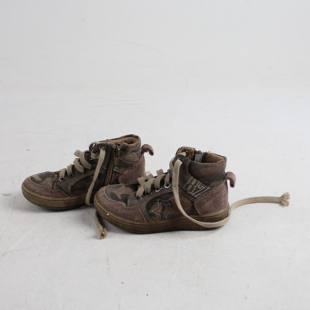 Dětské kotníkové boty Byllo