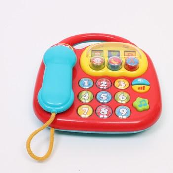 Retro telefon Simba ABC pro nejmenší